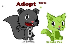 Adopt Three by HTF-Characters