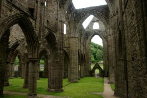 Tintern Abbey 04 Stock by lokinststock