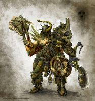 Nurgle Marauder by after-eleven