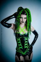 Neongreen Fantasy by THETERRORCAT
