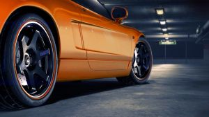 Honda NSX Orange loangle by NasG85