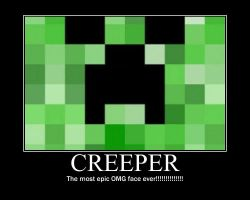Creeper Poster by CamoBassetHound