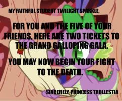 Princess Trollesita: Tickets by Closer-To-The-Sun