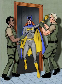 Batgirl to the rescue?? by Radius45