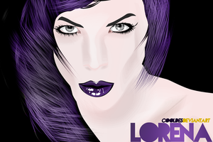 LORENA vector ART by CoolDes