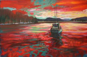 Bellanoch Boats by NaismithArt