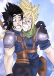 Zack + Cloud: sMiLe! by Kittyotic