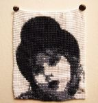 Bead work tapestry experiment by Zilknitha