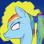 Great Sky Marshal Rainbow Dash by Yakshi7