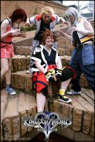 Kingdom Hearts 2 at AVCON 2009 by jinxiejinx