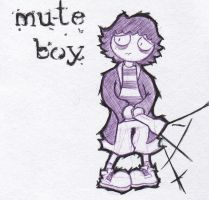 Mute Boy Contest Entry by MaddeningTruth