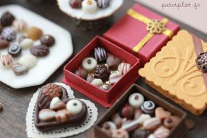 Chocolate and Pralines - 2 by PetitPlat