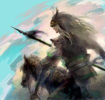 DynastyWarriors8 Ma Chao by nonamezai