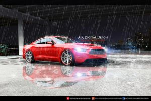 2015 Ford Mustang Modified by akdigitaldesigns