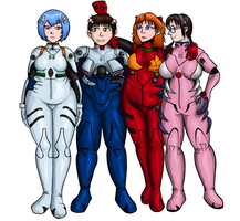 Evangelion Chubby by ProfessorDoctorC