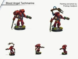 Laniates, Blood Angel Techmarine by Olovni