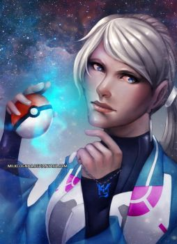 Pokemon GO - Blanche by MilkCognac