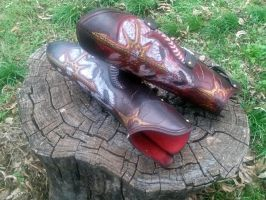 Chaos Greaves by Cade2187