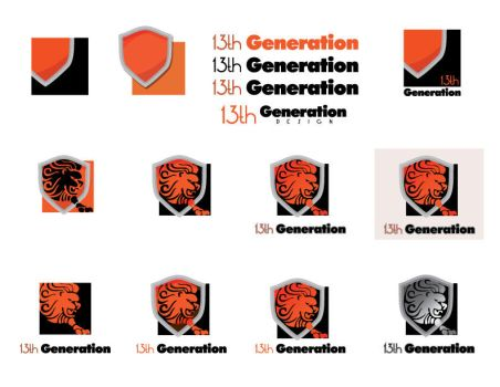 13th Generation Logo Series by xloganx