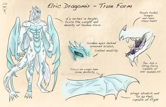 Elric's True Form by Anazen