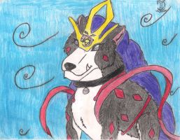 Avaricious Suicune by ExplodingBlossom