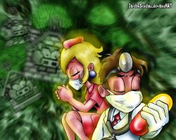 Mario and the Swine Flu by JardimStudios