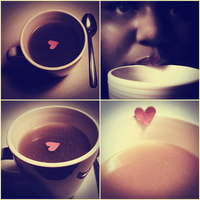 My heart in a cup. by airicalush