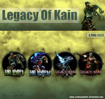Legacy Of Kain Dock Icons by archnophobia