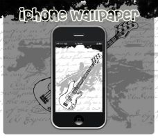 iPhone - Grunge Guitar by Billy-Belynda