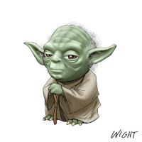 Y is for Yoda by joewight