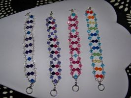 Deluxe Harmony Bracelets by ComparativeRarity