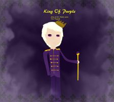 King of Purple by lollimewirepirate