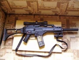 G36C-S Right Side by Samurai69
