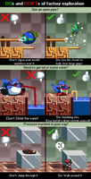 Dos and Donts in a factory level by Yukimazan