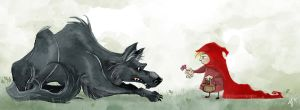 Red Riding Hood by snowapples