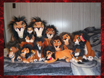 .:2011 Scar Plush collection:. by Dunkin-Prime