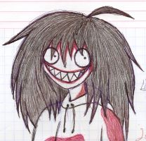 Jeff the killer by RosaSkaterFletCher