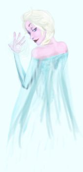 I May Or May Not Be A Little Or A Lot Gay For Elsa by Sayome315