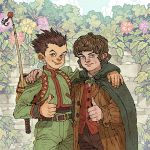 Gon and Frodo by AfuChan