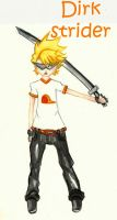 dirk strider by blackflameknight