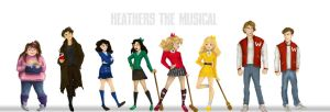 Heathers the Musical - Cast line up by Hillary-CW