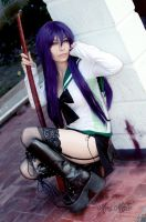 Saeko Busujima Cosplay by MaryMagika