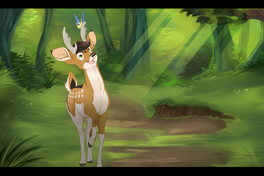 .: COM: Stroll in the Forest :. by PirateHearts