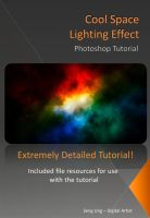 Space Light Photoshop Tutorial by drkzin