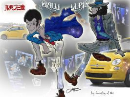 Lupin and Jigen by Dorothy-of-Oz