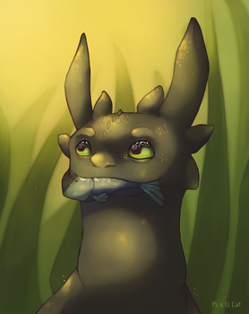 HTTYD - Toothless by Pixe-ll-Cat