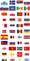 Flags of Europe - Bohemianised by SoaringAven
