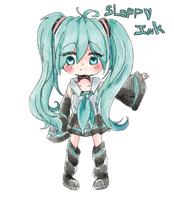 Miku Jelly by SloppyInk