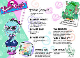 Monster High Oc Taisie Bonaire Bio by chunk07x
