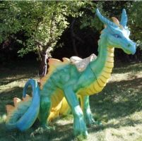 Candice the Lawn Dragon by Teatochan